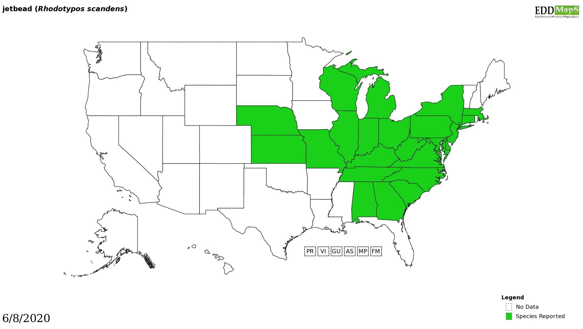 Jetbead distribution - United States