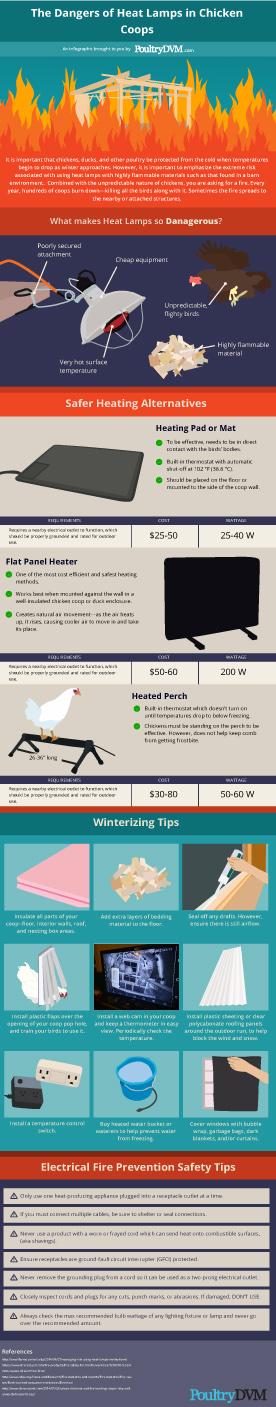 The Dangers of Heat Lamps in Chicken Coops