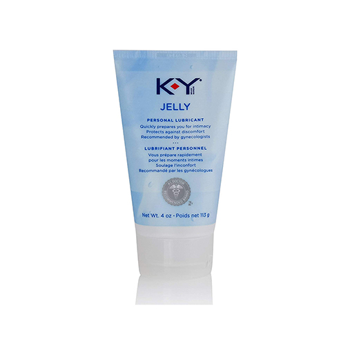 K-Y Jelly Personal Water Based Lubricant, 4 oz