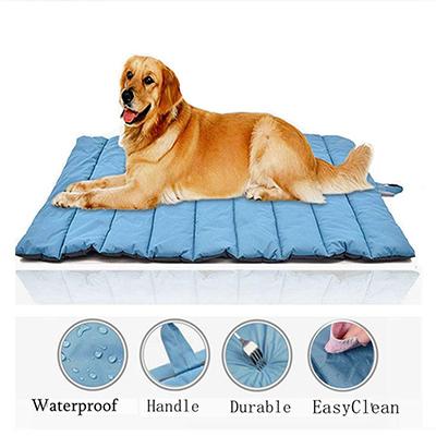 Gowild Oversize Cool Pets Bed Mat Waterproof Outdoor Travel
