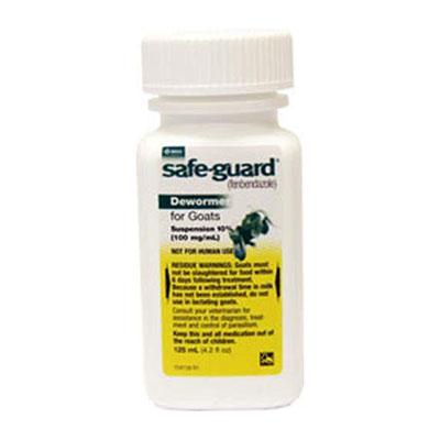 Merck Safeguard Goat Dewormer, 125ml