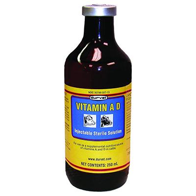 Durvet 002568 Vitamin Ad Injection