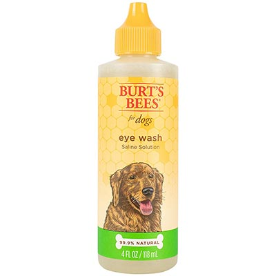 Burt's Bees for Dogs Natural Eye Wash with Saline Solution