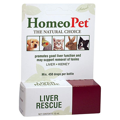 HomeoPet Liver Rescue - formerly Cleanz-Detox