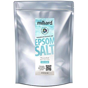 Milliard Epsom Salt 3lbs. Magnesium Sulfate BULK Bag