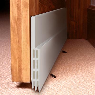 Under Door Sweep Weather Stripping Door Draft Stopper Door Bottom Seal Strip for Noise Insulation