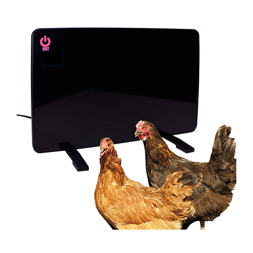 Cozy Products Safe Chicken Coop Pet Heater 200W Flat Panel Technology