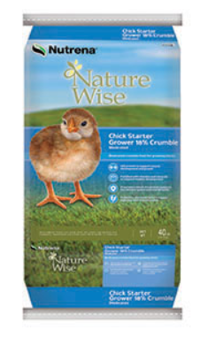 Nutrena NatureWise Chick Starter Grower Medicated Crumbles image