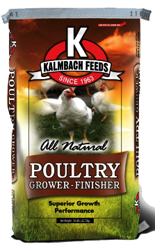 Kalmbach All Natural 16% Flock Grower Crumble image