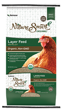 Nutrena Nature Smart Organic 16% Layer Pellet Chicken Feed image