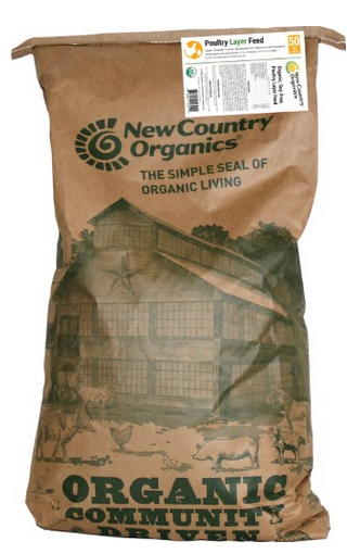 New Country Organics 17% Chicken Layer Feed image